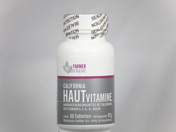 Huidvitamines Plus 60 stuks